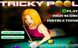 Tricky Pool Game